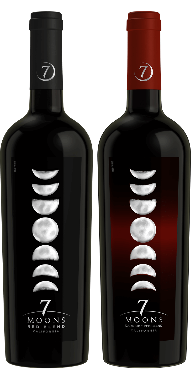 7 Moons Red Blend Wine California Red Wine